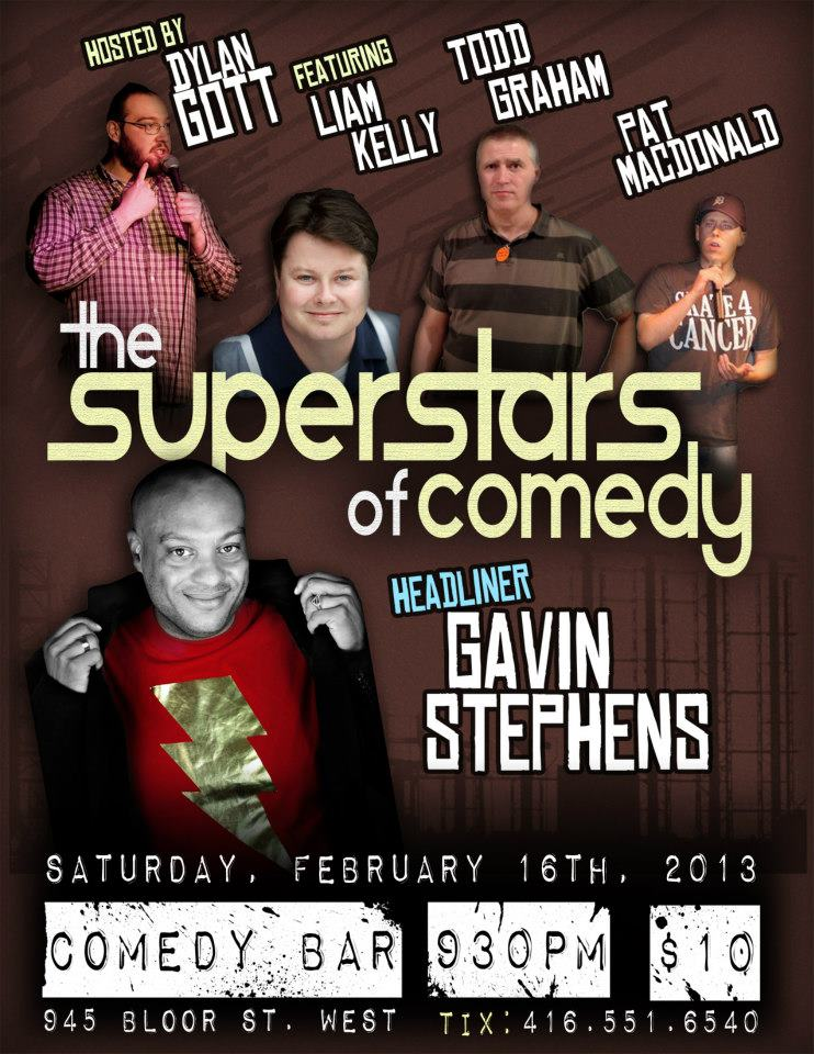 Feburary 16th it's time for the Superstars of comedy.